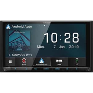 "Player multimedia auto KENWOOD DNX9190DABS, 6.8"", 4 x 50W, Bluetooth, navigatie Garmin"