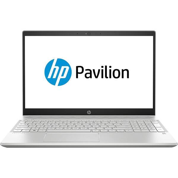 "Laptop HP Pavilion 15-cw0015nq, AMD Ryzen 3 2300U pana la 3.4GHz, 15.6"" Full HD, 8GB, SSD 256GB, AMD Radeon Vega 6 Graphics, Free Dos"