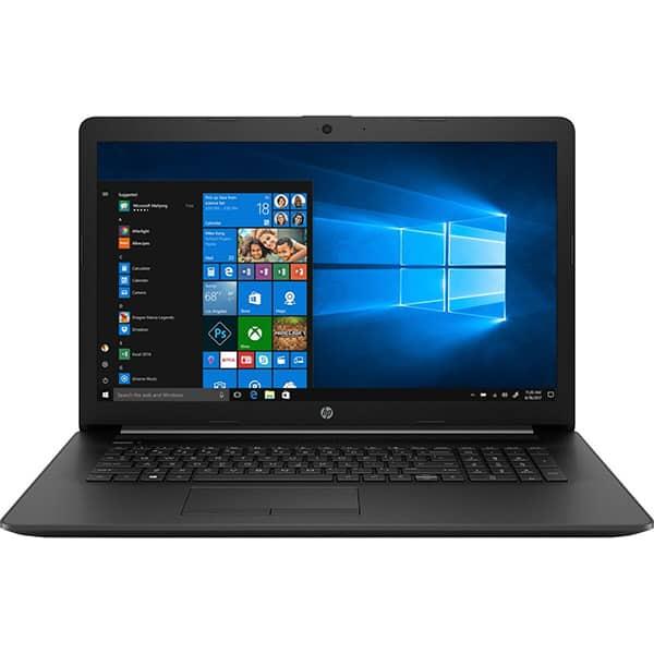 """Laptop HP 17-by3029nq, Intel Core i7-1065G7 pana la 3.9GHz, 17.3"""" Full HD, 8GB, SSD 256GB, NVIDIA GeForce MX330 2GB, Windows 10 Home, negru"""