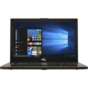 "Laptop Gaming ASUS ROG Zephyrus GM501GS-EI004T, Intel Core i7-8750H pana la 4.1GHz, 15.6"" Full HD, 16GB, SSHD 1TB + SSD 512GB, NVIDIA GeForce GTX 1070 8GB, Windows 10 Home, Negru"