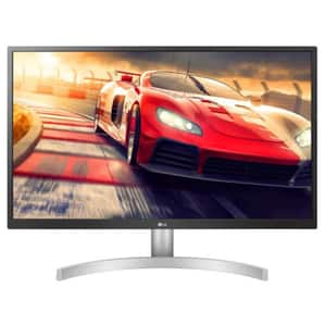 "Monitor LED IPS LG 27UL500-W, 27"" 4K UHD, HDR 10, Radeon FreeSync, 60Hz, alb"