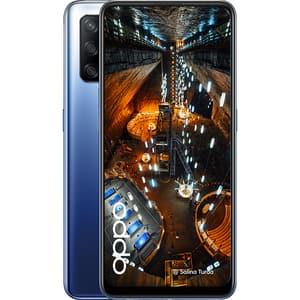 Telefon OPPO A74, 128GB, 4GB RAM, Dual Sim, Midnight Blue
