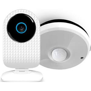 Kit ALLVIEW Siebo Security Start, SmartCam + Senzor multifunctional, alb