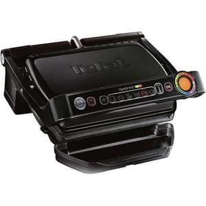 Gratar electric TEFAL OptiGrill+ GC712834, 2000W, 6 programe automate, negru