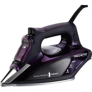 Fier de calcat ROWENTA Focus 3 DW5125, 2400W, 150g/min, 300ml, talpa Microsteam 400 Laser, violet-negru