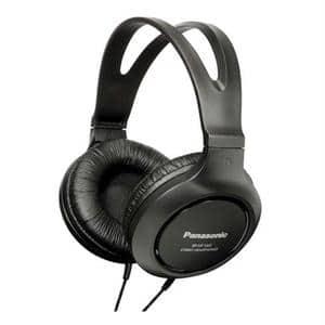 Casti PANASONIC RP-HT161E-K, Cu Fir, On-Ear, negru