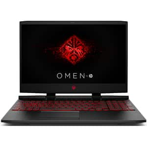 "Laptop Gaming Omen by HP 15-dc0018nq, Procesor Intel® Core™ i5-8300H pana la 4GHz, 15.6"" Full HD, 8GB, 1TB, NVIDIA GeForce GTX 1050 Ti 4GB, Free Dos"