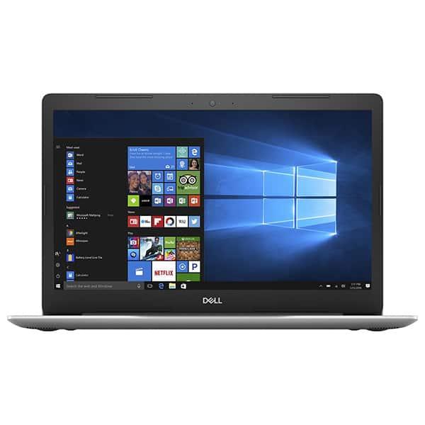 """Laptop DELL Inspiron 5570, Intel Core i7-8550U pana la 4.0GHz, 15.6"""" Full HD, 8GB, HDD 2TB + SSD 128GB, AMD Radeon 530 4GB, Windows 10 Home, Argintiu"""