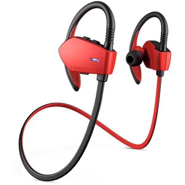 Casti ENERGY SISTEM Earphones Sport 1 ENS427758, Bluetooth, In-Ear, Microfon, rosu