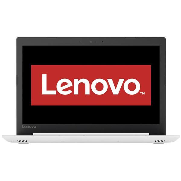 "Laptop LENOVO IdeaPad 330-15IGM, Intel Pentium N5000 pana la 2.7GHz, 15.6"" HD, 4GB, 500GB, Intel UHD Graphics 605, Free Dos, alb"
