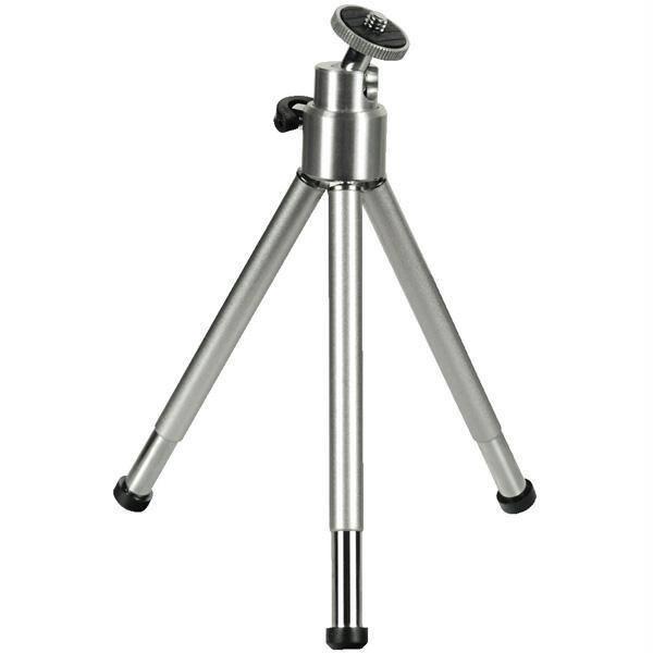 Mini trepied foto-video HAMA Ball L 4009, 21cm, argintiu