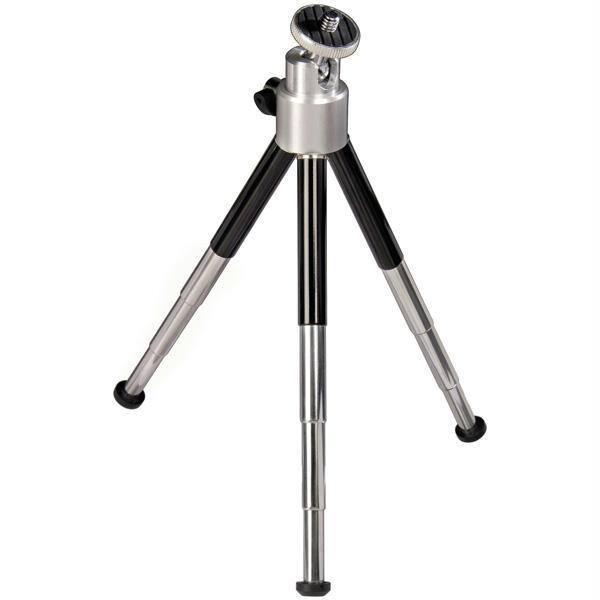 Mini trepied foto-video HAMA Ball L 4063, 21 cm, negru-argintiu