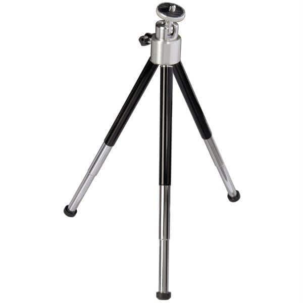 Mini trepied foto-video HAMA Ball XL 4065, 26 cm, negru-argintiu