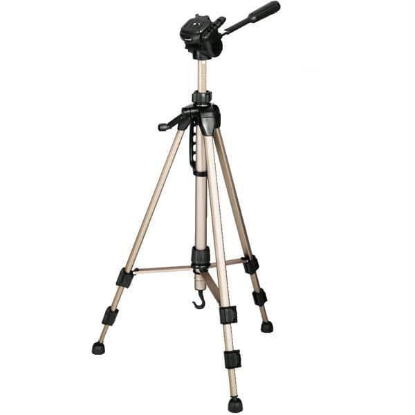 Trepied foto-video HAMA Star Pro 61 4161, 153 cm, auriu