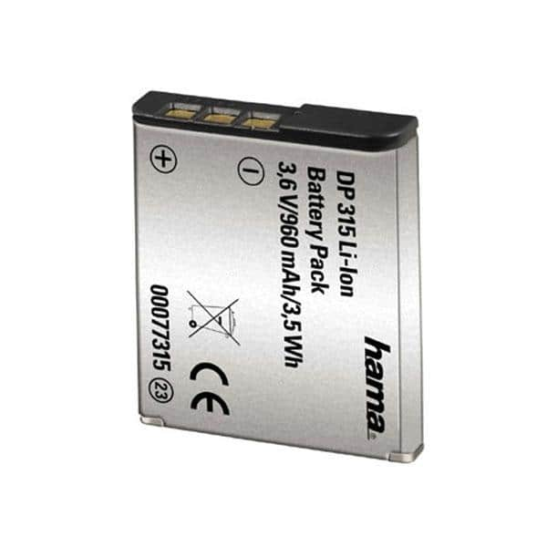 Acumulator Li-Ion HAMA DP 315, 960 mAh, Sony NP-BG1