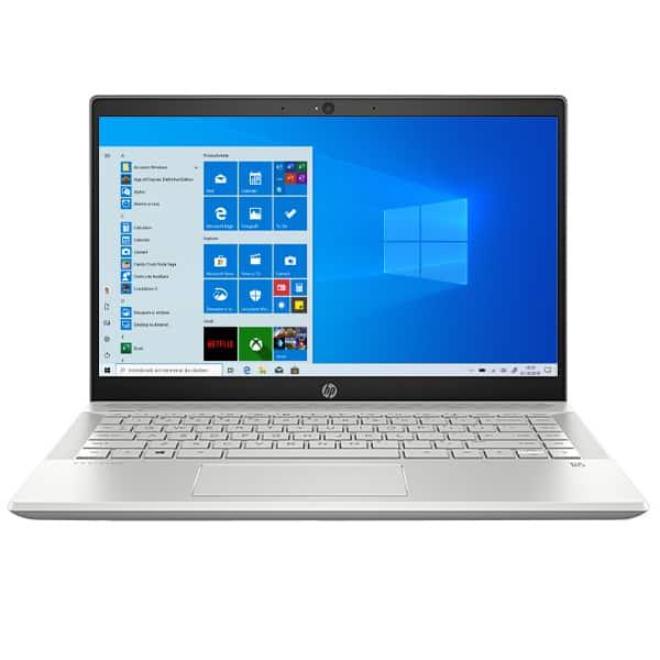 "Laptop HP Pavilion 14-ce3021nq, Intel Core i7-1065G7 pana la 3.9GHz, 14"" Full HD, 8GB, SSD 512, NVIDIA GeForce MX250 4GB, Windows 10 Home, argintiu"