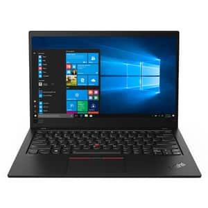 "Laptop LENOVO ThinkPad X1 Carbon Gen7, Intel Core i7-8565U pana la 4.6GHz, 14"" 4K UHD, 16GB, SSD 512GB, Intel UHD Graphics 620, Windows 10 Pro, negru"