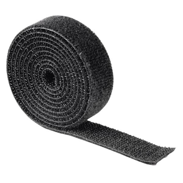 Banda cu arici pentru organizare cabluri HAMA 20543, 1 m, negru