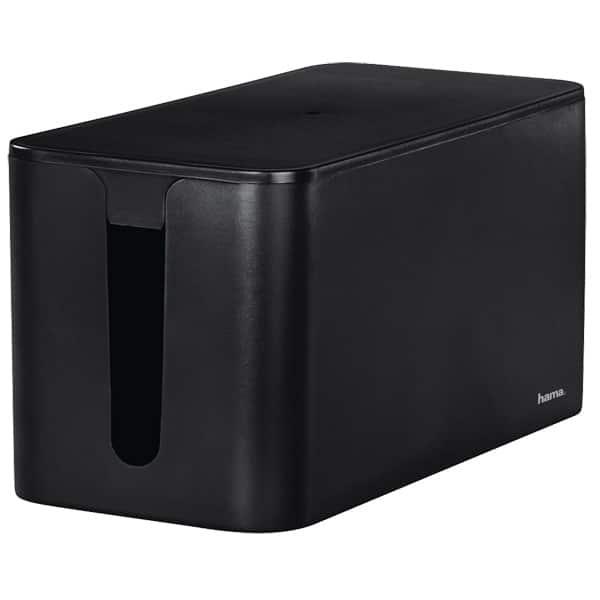 Caseta pentru organizare cabluri HAMA Mini 20663, negru