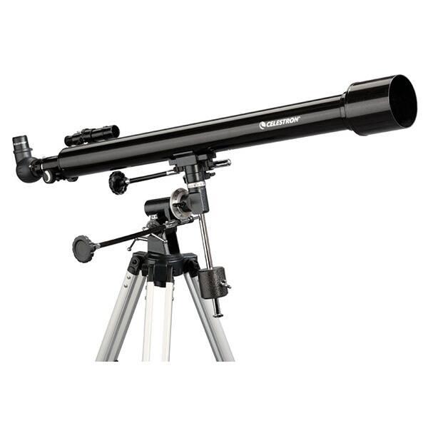Telescop CELESTRON PowerSeeker 60EQ, refractor acromat