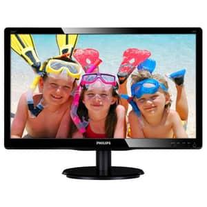 "Monitor LED TN PHILIPS 226V4LAB/00, 21.5"", Full HD, 60Hz, negru"
