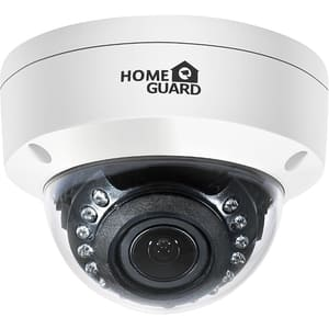 Camera supraveghere exterior/interior HOMEGUARD Dome CCTV HGPLM829, Full HD 1080p, IR, Night Vision, alb