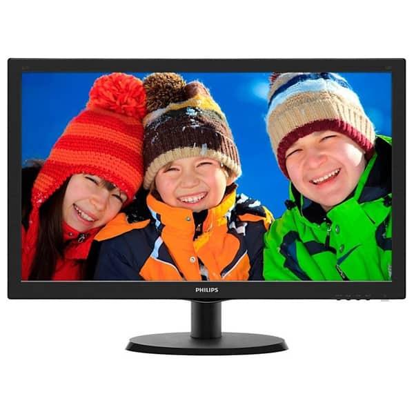 """Monitor LED TN PHILIPS 223V5LHSB/00, 21.5"""", Full HD, 60Hz, negru"""