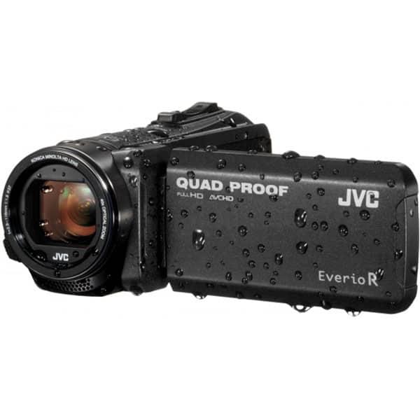 Camera video JVC GZR445BEU, Full HD, negru