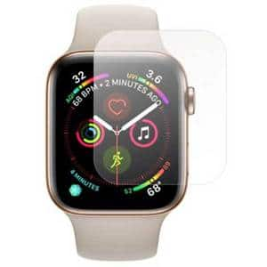 Folie protectie pentru Apple Watch Series 4 44mm, SMART PROTECTION, 4 folii incluse, polimer, display, transparent