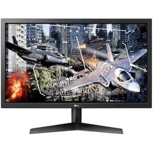 "Monitor Gaming LED TN LG 24GL600F-B, 23.6"" Full HD, Radeon FreeSync, 144Hz, negru"