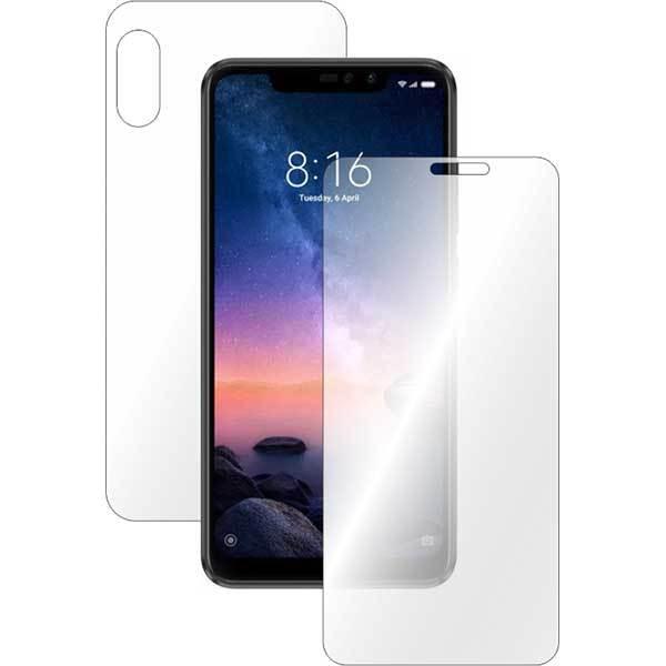 Folie protectie pentru Xiaomi Redmi Note 6 Pro, SMART PROTECTION, polimer, fullbody, transparent