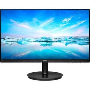Monitor LCD IPS Philips, 272V8A, 27'', Full HD, 75Hz, Negru