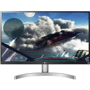 "Monitor LED IPS LG 27UL600-W, 27"", 4K UHD, 60Hz, FreeSync, alb"