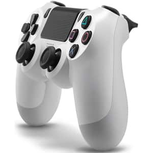 Controller Wireless SONY PlayStation DualShock 4 V2, Glaciar White