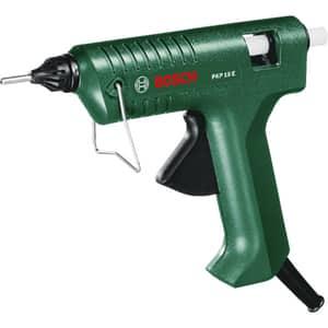 Pistol de lipit cu silicon BOSCH PKP 18 E, verde