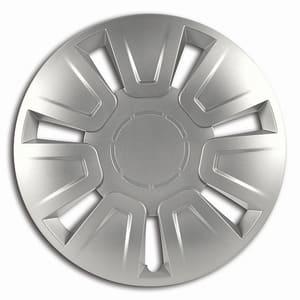 "Set capace roata CARMAX Focus Silver, 15"""