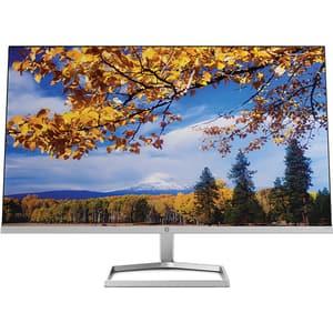 "Monitor LED IPS HP M27f, 27"", Full HD, 60Hz, AMD FreeSync, argintiu"