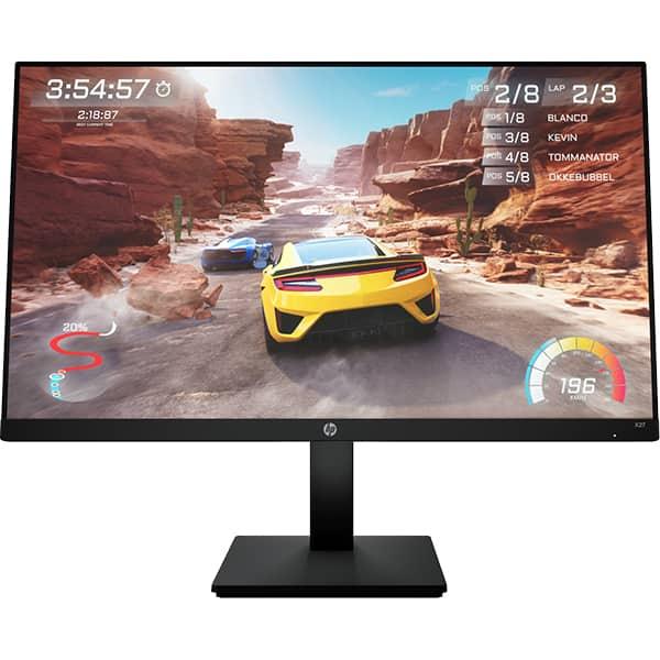 "Monitor Gaming LED IPS HP X27, 27"", Full HD, 165Hz, AMD Freesync Premium, negru"