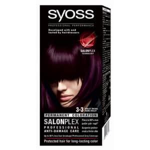 Vopsea de par SYOSS Color Bl, 3-3 Violet Inchis, 115ml
