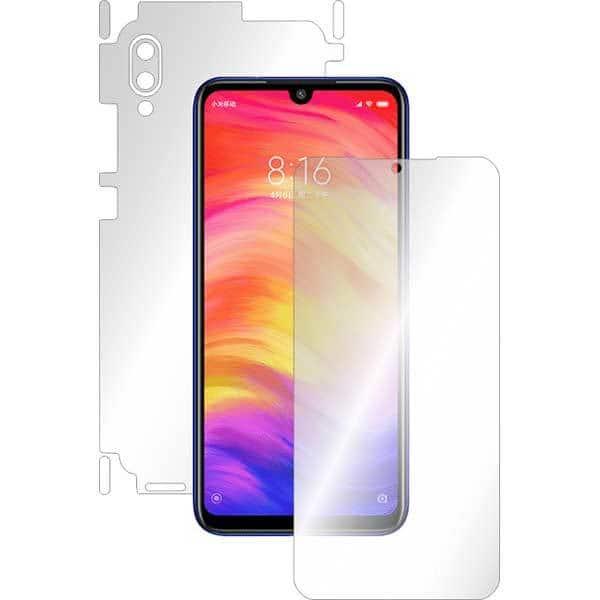 Folie protectie pentru Xiaomi Redmi 7, SMART PROTECTION, polimer, fullbody, transparent