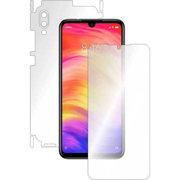 Folie protectie pentru Xiaomi Redmi Note 7, SMART PROTECTION, polimer, fullbody, transparent