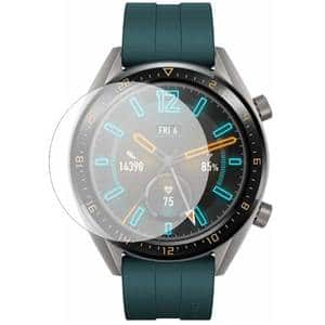 Folie protectie pentru Huawei Watch GT 2019 Active, Huawei Watch GT Sport, Huawei Watch GT Classic 46mm, SMART PROTECTION, 2 folii incluse, polimer, display, transparent