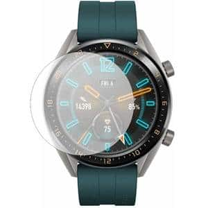 Folie protectie pentru Huawei Watch GT 2019 Active, Huawei Watch GT Sport, Huawei Watch GT Classic 46mm, SMART PROTECTION, 4 folii incluse, polimer, display, transparent