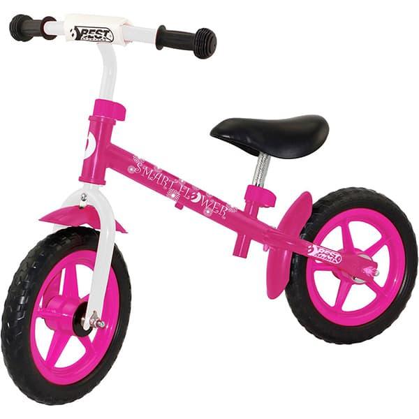 "Bicicleta copii BEST SPORTING Laufrad Run 31102, 12"", aliaj, roz"