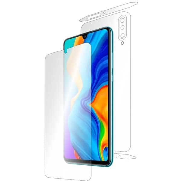 Folie protectie pentru Huawei P30 Lite, SMART PROTECTION, polimer, fullbody, transparent