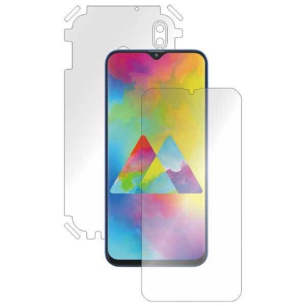 Folie protectie pentru Samsung Galaxy M20, SMART PROTECTION, polimer, fullbody, transparent