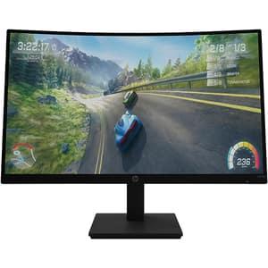 """Monitor Gaming curbat LED VA HP  X27c, 27"""", Full HD, 165Hz, AMD Freesync Premium, negru"""