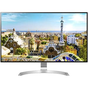 "Monitor Gaming LED IPS LG 32UD99-W, 31.5"", 4K UHD, 60Hz, Freesync, Quick Charge, alb"