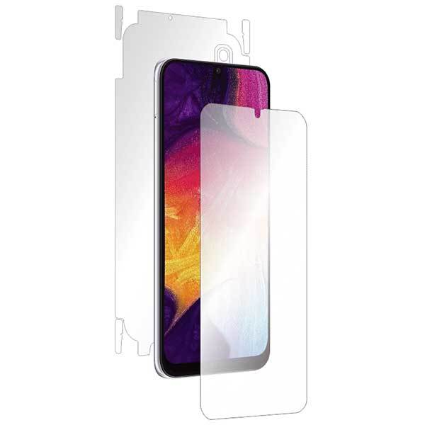 Folie protectie pentru Samsung Galaxy A50, SMART PROTECTION, polimer, fullbody, transparent