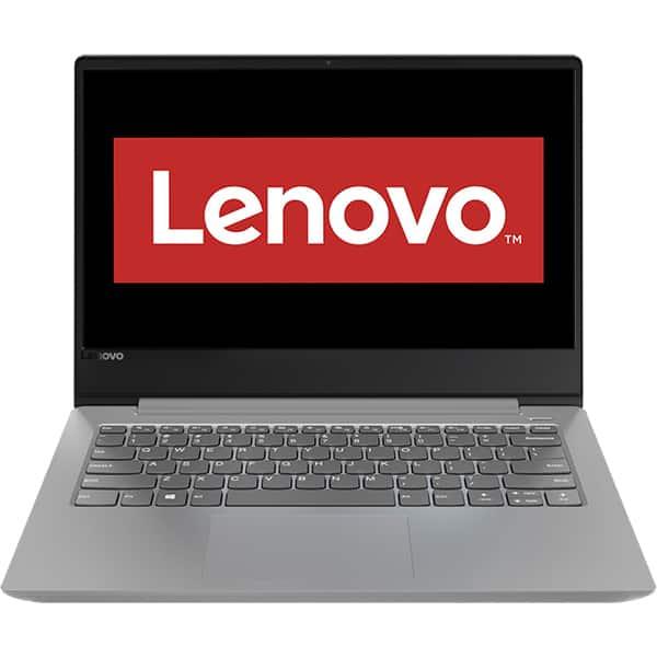 "Laptop LENOVO IdeaPad 330S-14IKB, Intel Core i3-8130U pana la 3.4GHz, 14"" Full HD, 4GB, 2TB, Intel UHD Graphics 620, Free Dos, Platinum Grey"